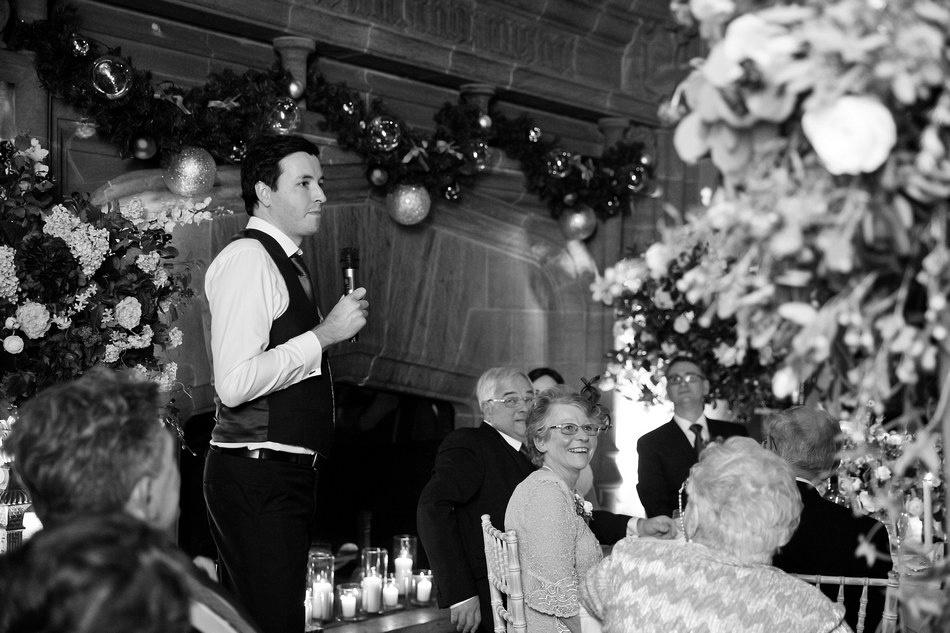 Cowdray House winter christmas wedding