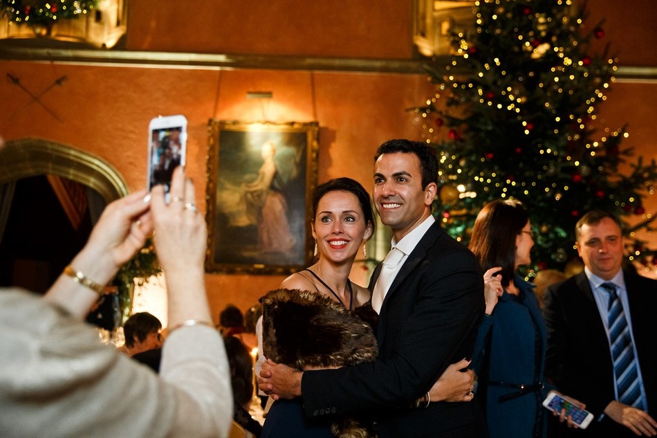 Cowdray House winter christmas wedding